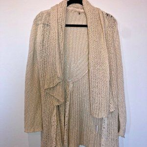 Knitted and Knotted Anthropologie Knit Cardigan XS